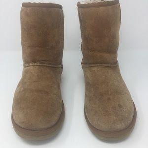 Ugg chestnut short classic boots-6